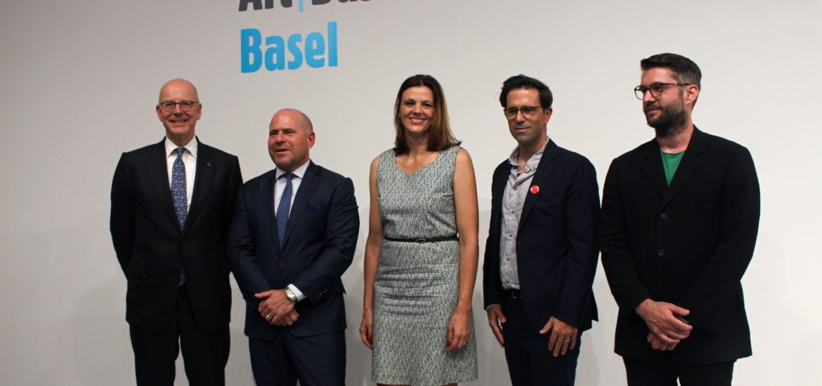 Media Reception for Art Basel in Basel. June 12, 2018