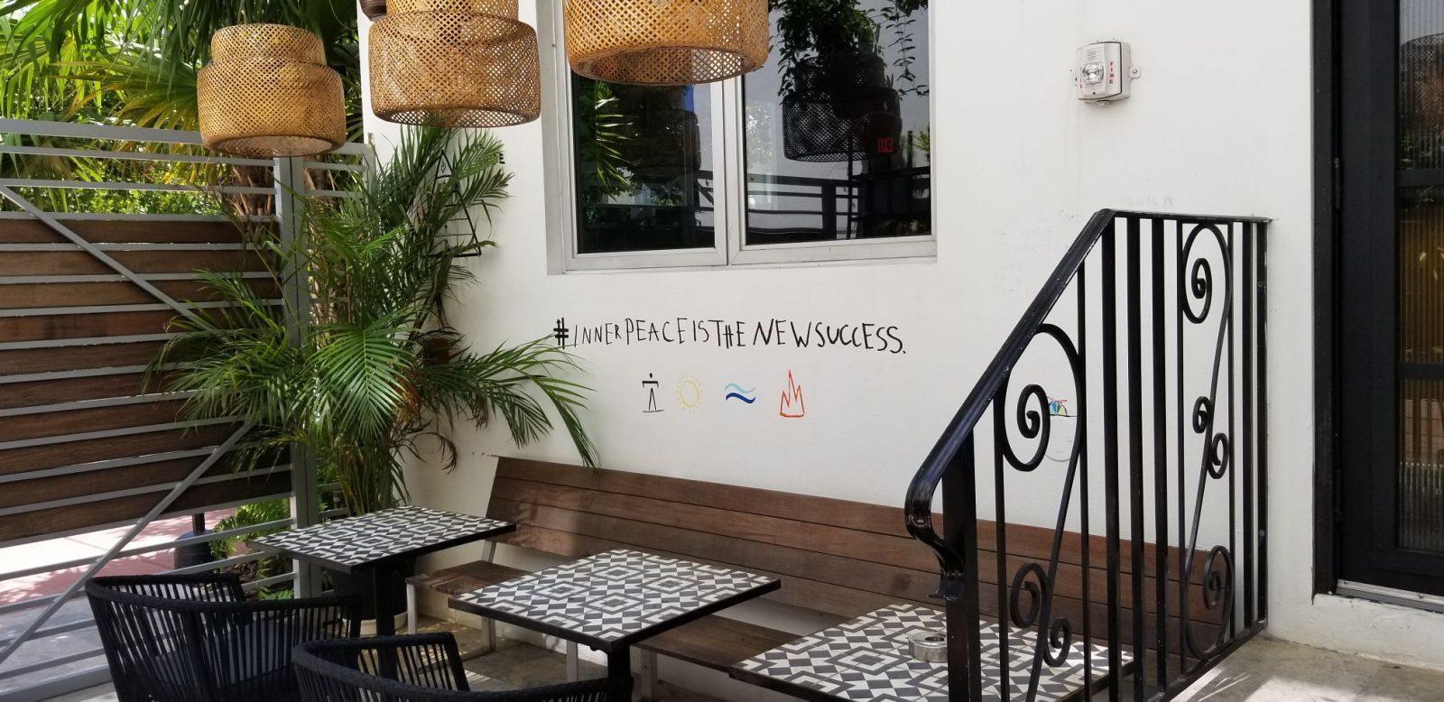 Outside Mini Bar at Urbanica
