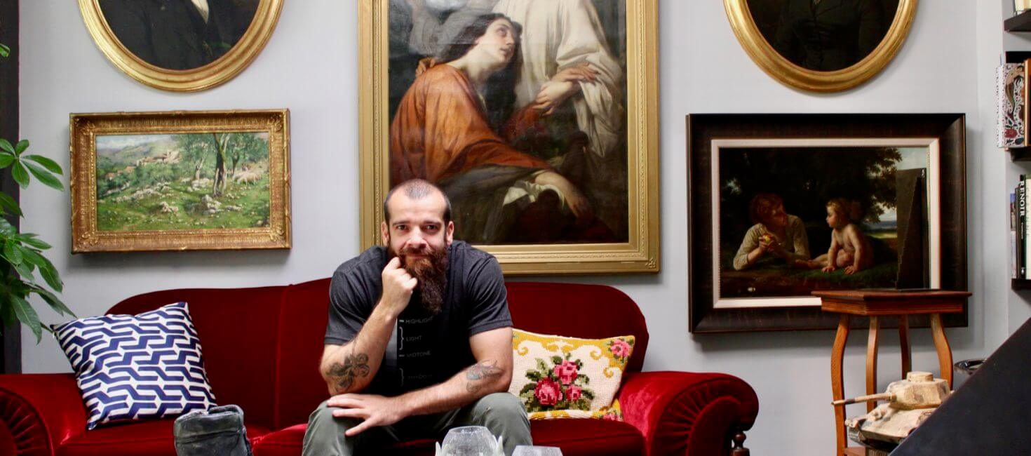 Cesar Santos is                  Making Renaissance Rock!