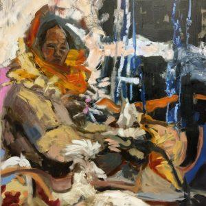 Susanne Zagorni, EINSAMKEITSBEHÜTERIN ( Gauardian of Loneliness) 2018