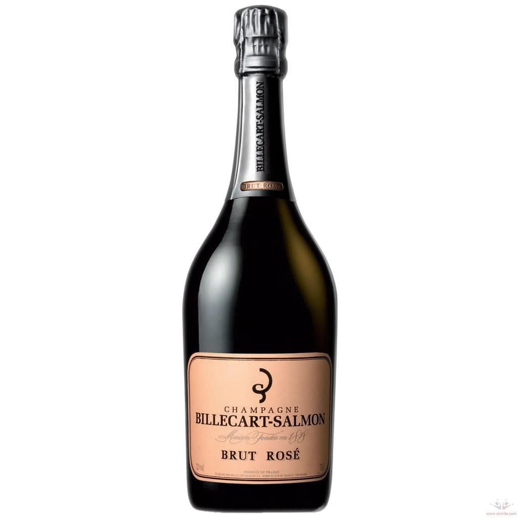 A bottle of Billecart-Salmon Rose
