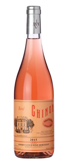A Bottle of Chinoe Rose Liore Valley, France