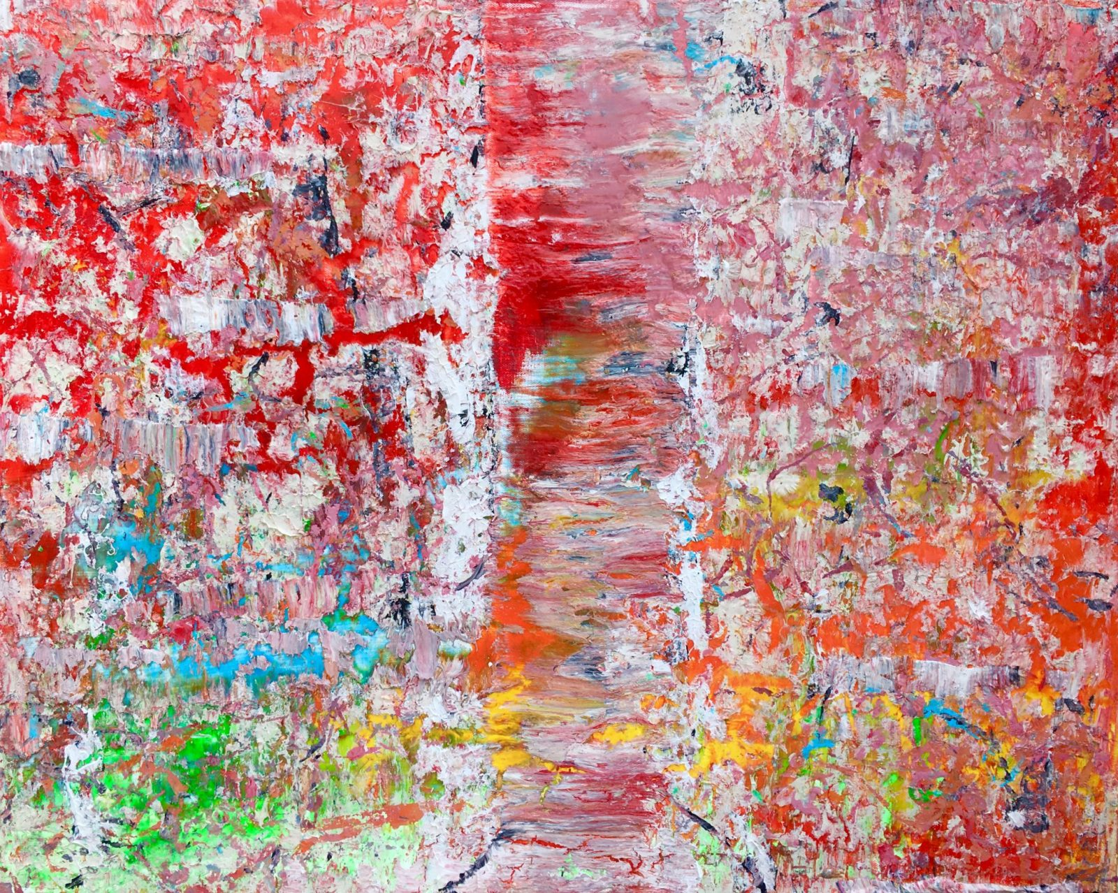 Abstract Painting by Rebecca Pacun