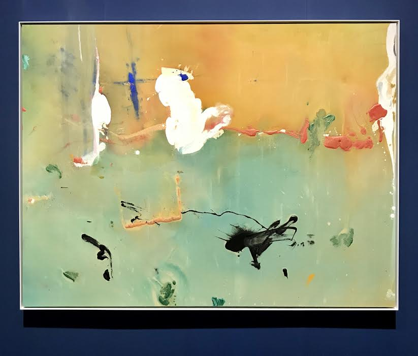 Helen Frankenthaler, White Joy, at Mnuchin Gallery