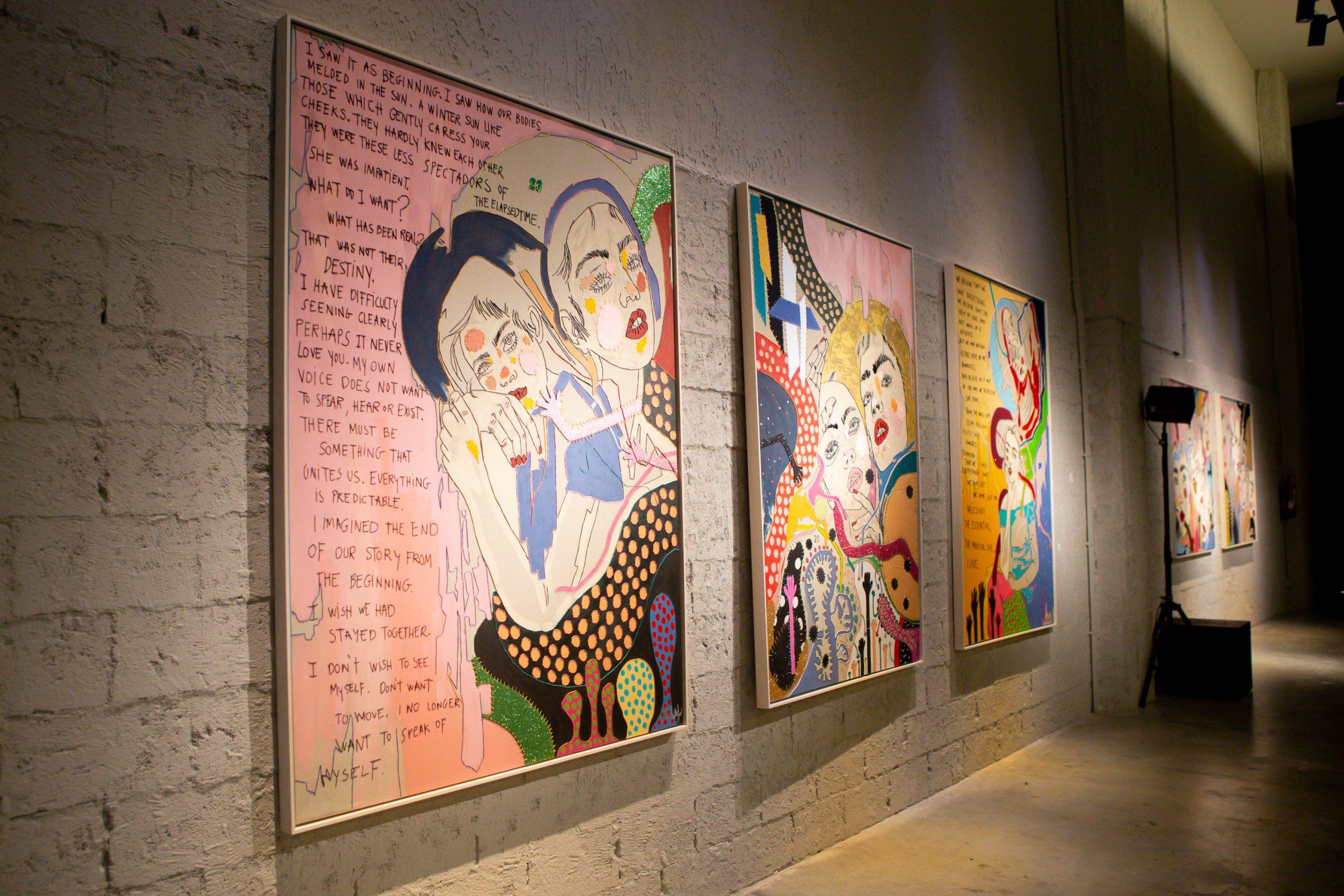 ElaFidalgo Photo by:Tatiana Chausovsky courtesy of Gerhardt Braun Gallery