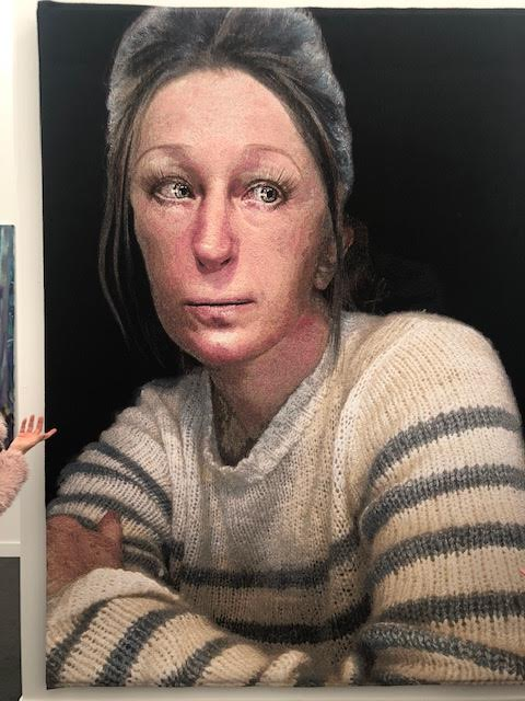 CINDY SHERMAN: (Untitled) Woven piece Metro Pictures Gallery