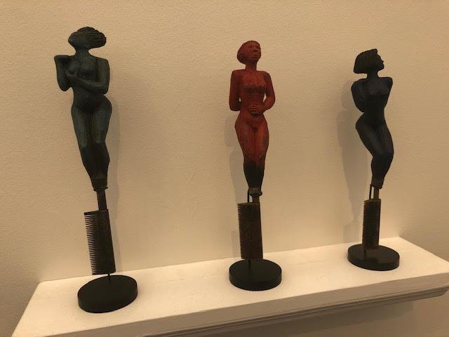 ALISON SAAR: (Titles under photos) LA Louver Gallery
