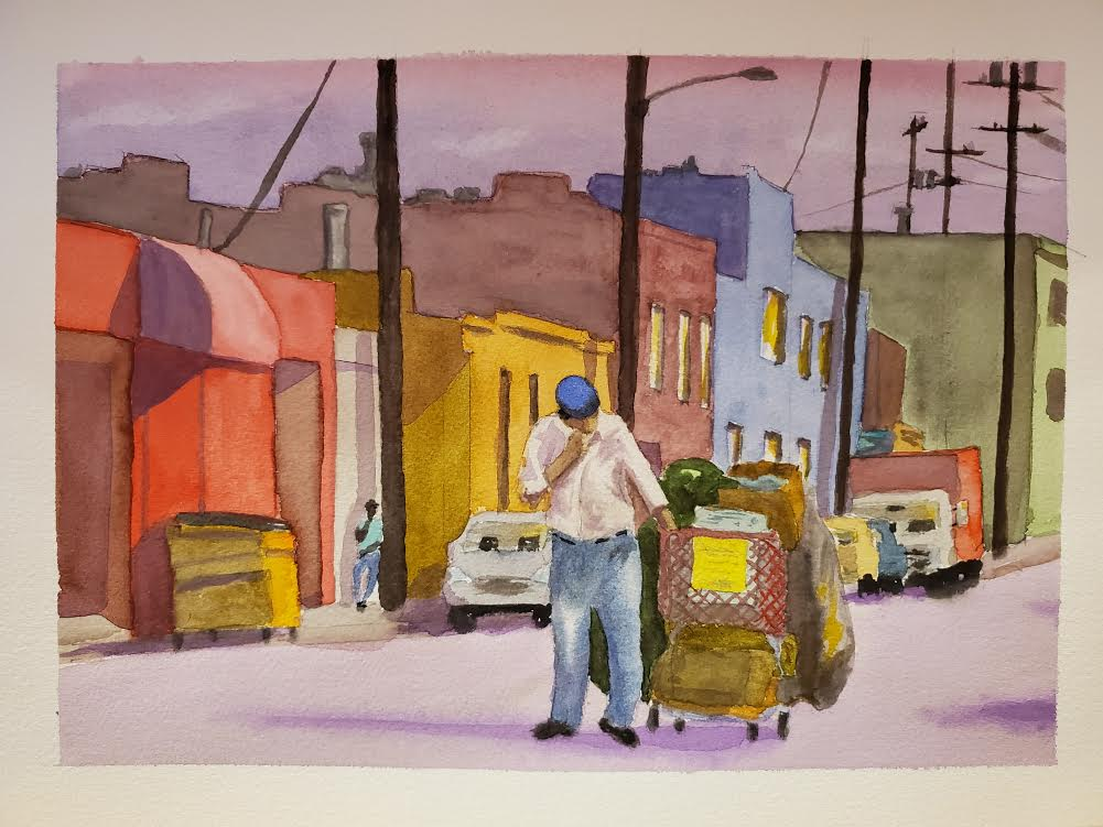 Water color by Jay Samit Photo: Courtesy of the artist