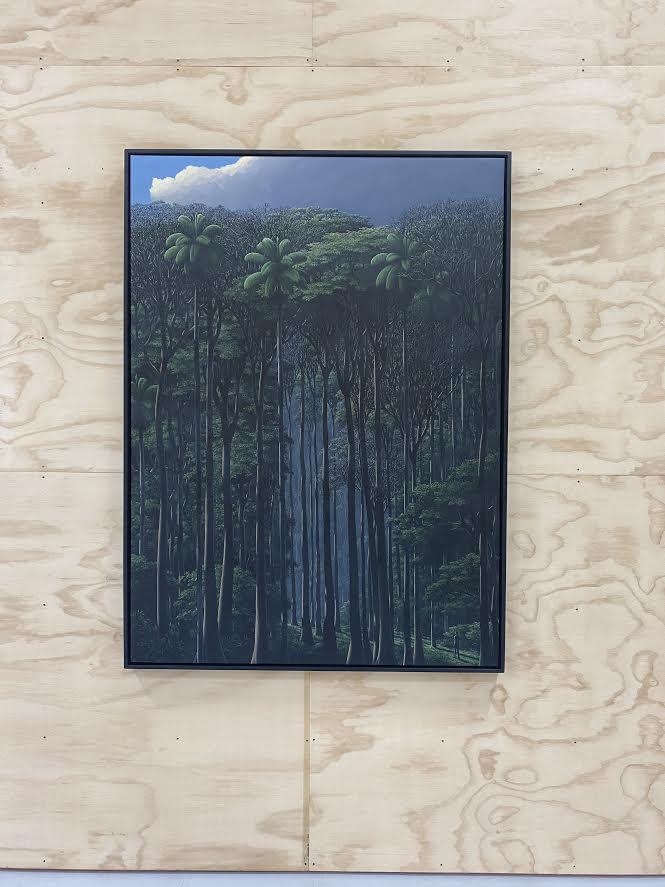 Inner Walker, 2019 acrylic on linen, 59 x 43.25 in
