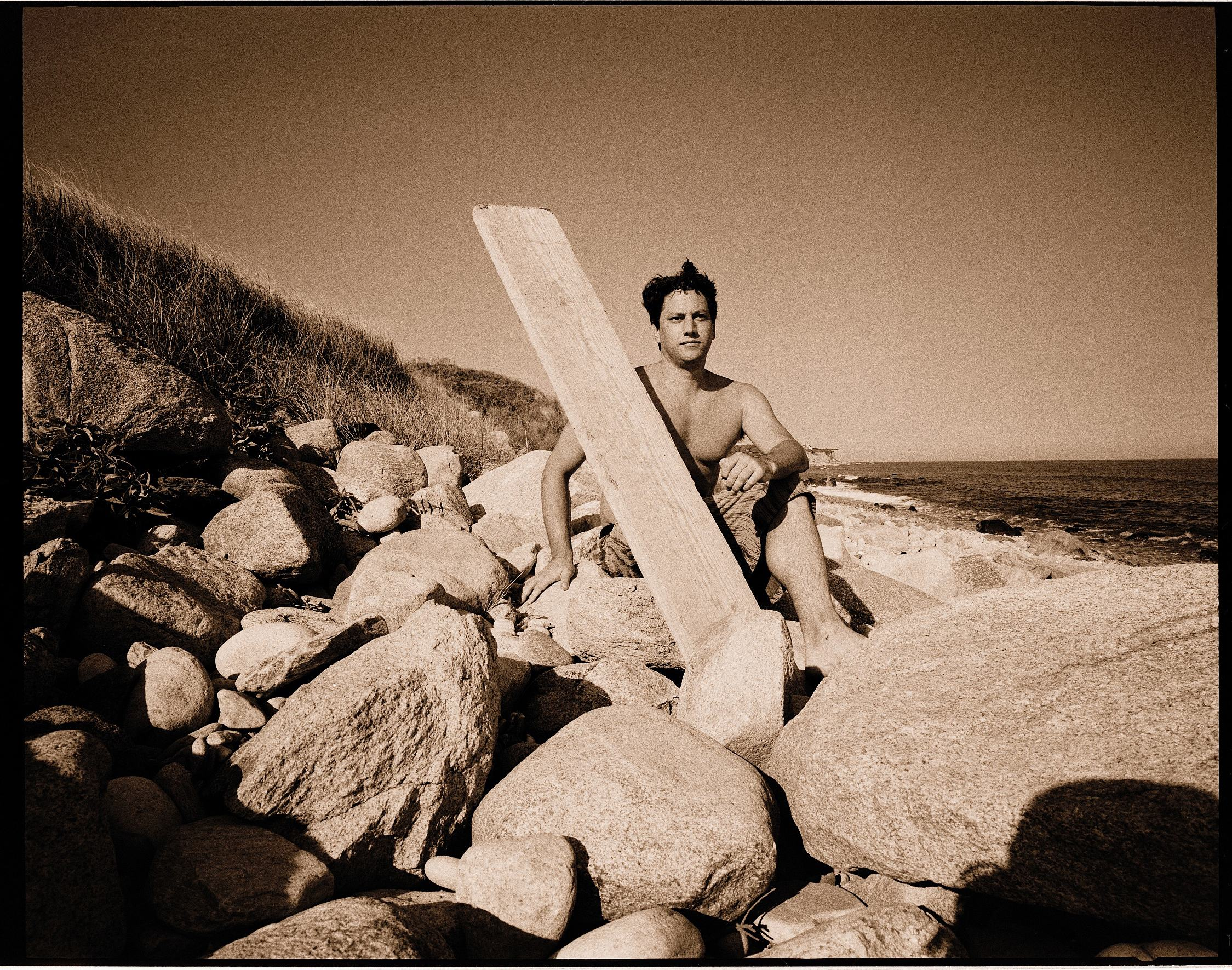 Andy Moses by Art Brewer, Montauk 1997