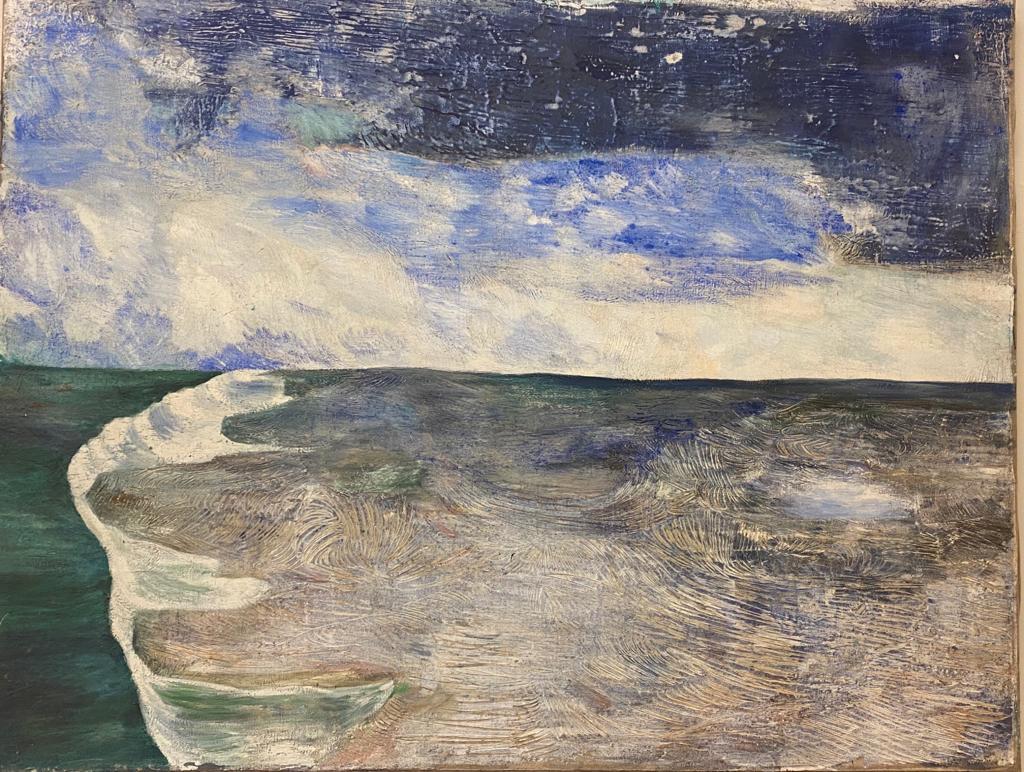 """The Ocean"" 51""x 65"""