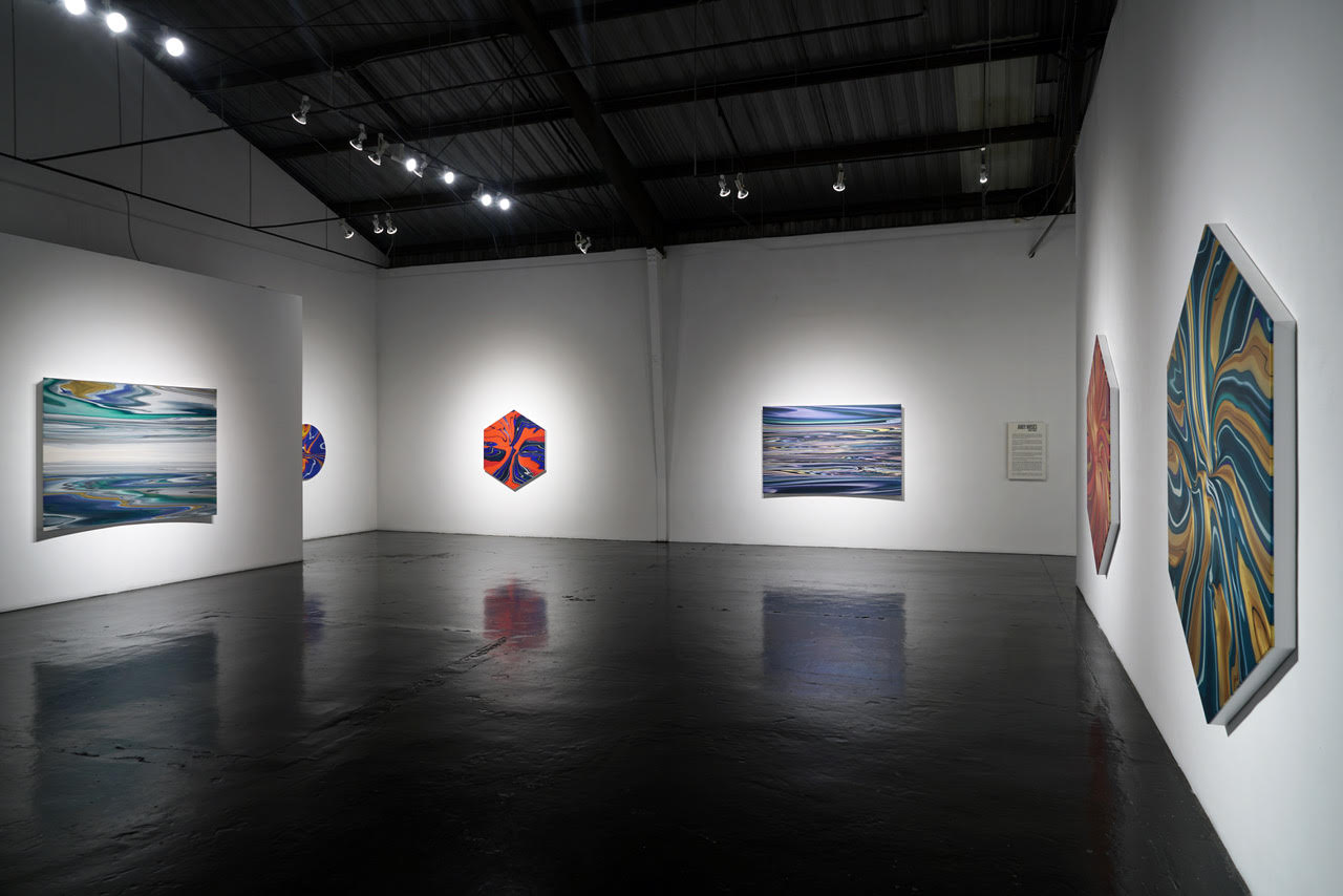 "Some works in his show ""Recent Works"" in the William Turner Gallery Photo by: Rob Brander"