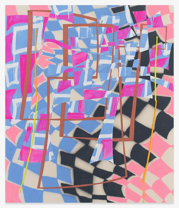 Trudy Benson Light Pink Path 2021 Photo: Courtesy of the artist and Miles McEnery Gallery New York