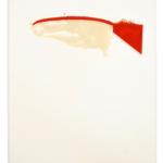 DAN COLEN Untitled , 1999 Acrylic on paper 11 3/4 x 10 inches 29.8 x 25.4 cm (MMG#33331) Dan Colen. Courtesy Dan Colen Studio.