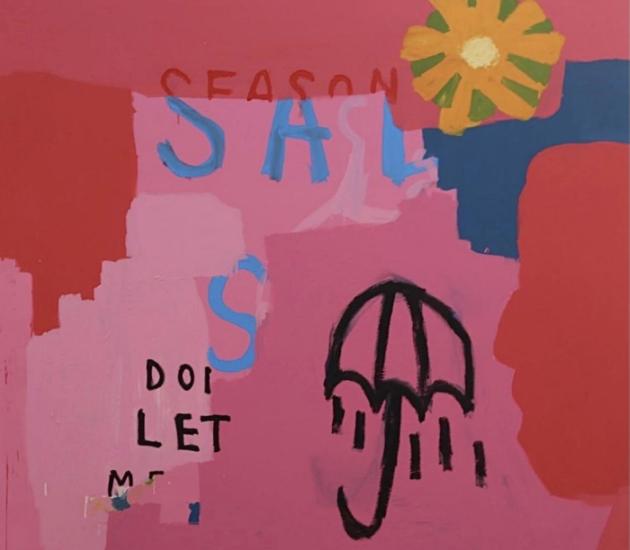 Sad Season, 2018, Acrylic on Canvas, 168cm x 152cm